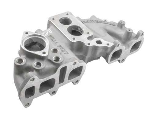 Offenhauser Performance Downdraft Intake Manifold 22R Dual Plane Weber  Carb  Flange